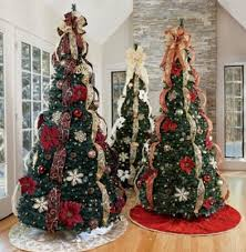 Pre Decorated Christmas Trees Interior Design Pre Decorated Christmas Trees Artificial Pre