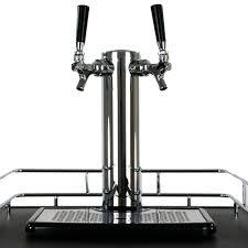 Pony Keg Kegerator Keggermeister Km5600ss Dual Tap Pour Kegerator Keg Beer Dispenser