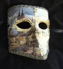 bauta mask of venice papier mache bauta mask