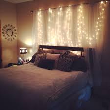 christmas light curtain headboard bedroom ideas pinterest with