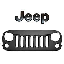 jeep cj grill logo angry grill blkmtn