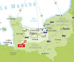 Le Havre France Map by Our Region La Normandise