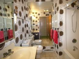 Designer Bathroom Wallpaper 12 Designer Bathrooms For Less Hgtv With Image Of Inexpensive