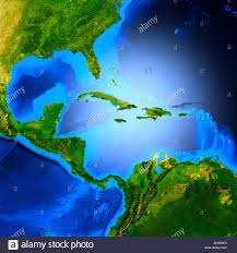 Central America And The Caribbean Map by Map Of Central America Showing The Caribbean Sea The Gulf Of