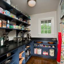 houzz blue kitchen cabinets 75 beautiful kitchen pantry with blue cabinets pictures