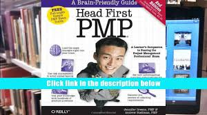 pdf head first pmp a brain friendly guide to passing the project