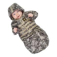 Bunting Halloween Costume Underwraps Infant Baby Army Soldier Halloween Costume Bunting