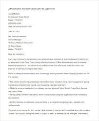 cover letter administrative assistant no experience teacher cover