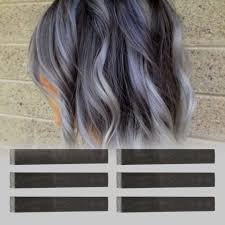 dark ash blonde hair color graphic dark ash grey brown ombre