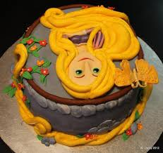 tangled birthday cake rapunzel cakes decoration ideas birthday cakes