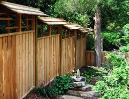 asian style fence japanese style gardens pinterest low