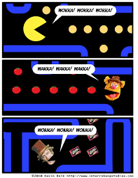 Pacman Meme - wokka wakka wonka pac man know your meme