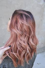 pink highlighted hair over 50 hair color blonde and rose gold highlights coconut oil for teeth