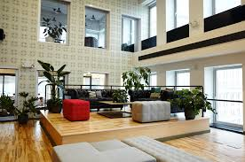 tech office design meet the startup designing breathtaking office plant displays for