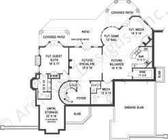 north star french country house plan luxury house plan