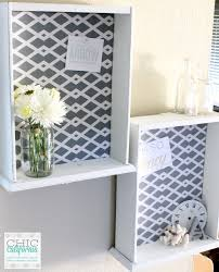 Thrift Store Diy Home Decor by Diy Fabric Bulletin Board From A Thrift Store Drawer Chic California