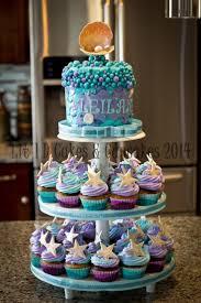 little mermaid baby shower cake best inspiration from