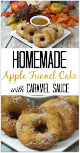 apple funnel cake
