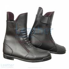 black motorcycle boots shop now heritage black motorcycle boots at leather collection uk