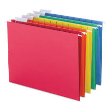 Decorative Hanging File Boxes Smead Hanging File Folders 1 5 Tab 11 Point Stock 25 Box