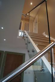 Glass Staircase Banister Glass Banister For Stairs Great Method To Make Staircase Unique