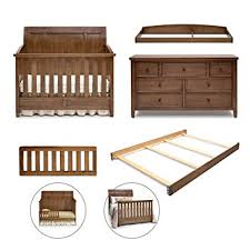 amazon com simmons kids king 5 piece nursery furniture set crib
