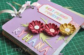 make a photo album miyyah kertas the home made scrapbook album sounds like muffin
