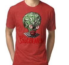 Human Anatomy T Shirts Invasion Of The Saucer Men