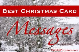 christmas cards messages 25 best christmas card messages faithful provisions