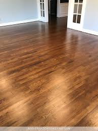 Refinished Hardwood Floors Before And After Living Room My Newly Refinished Oak Hardwood Floors And With
