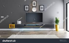 tv room salon living room covered stock illustration 697099921