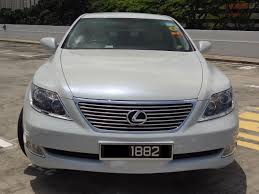 lexus singapore service booking pearl white lexus ls460 the most luxury car for your service