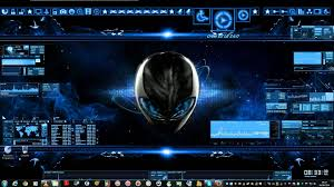 theme bureau windows mon bureau pc futuriste windows 7 poetegamer