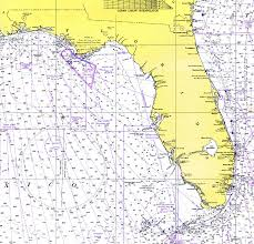 map of the gulf of mexico florida and the gulf of mexico 1975