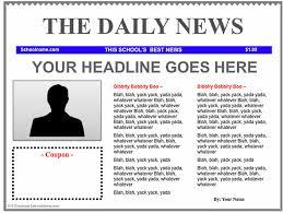 news report template free news report template news report template