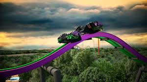 Six Flags Md Hours Official The Joker 4d Free Fly Coaster Preview Animation Video