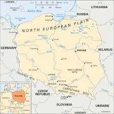 map of n europe european plain poland students britannica