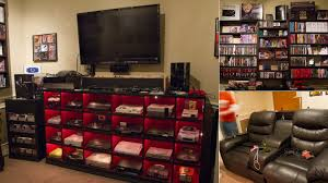 The Ultimate Game Room - ultimate geek tv stand nerdy things pinterest gaming setup