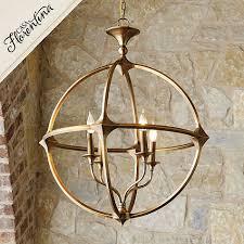 Ballard Chandelier Attractive Orb Chandelier Gold In Casa Florentina Lando 4 Light