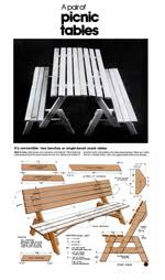 Folding Picnic Table Instructions by Free Folding Picnic Table Plans Portable Picnic Table Plans