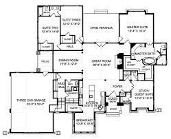 craftsman style house plan 4 beds 3 50 baths 3151 sq ft plan