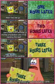 Patrick Moving Meme - essay spongebob quotes buy original essay