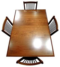 Custom Built Dining Room Tables by Small Shaker Leg Dining Room Table And Chairs Amish Furniture