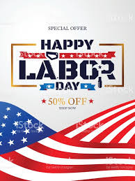Country Flags For Sale Happy Labor Day With American Flag Backgroundlabor Day Sale