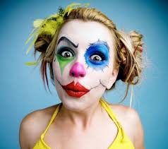 Womens Homemade Halloween Costume Ideas Cool Halloween Makeup Clown Makeup Women Diy Halloween Costume