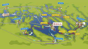 Viking Map Travel With Boat To Birka U2013 Birka The Viking City