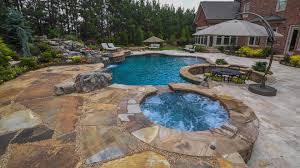 custom swimming pools contractor builder georgia classic pool