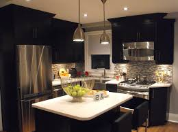kitchen cabinets and islands black kitchen cabinets with white appliances plain white of island