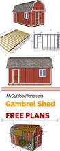 building a gambrel roof 240 best sheds and garage plans images on pinterest pole barns