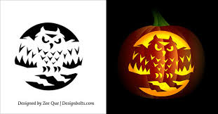 Halloween Home Decor Patterns by Terrific Pumpkin Carving Patterns Free Printable Halloween 14 In